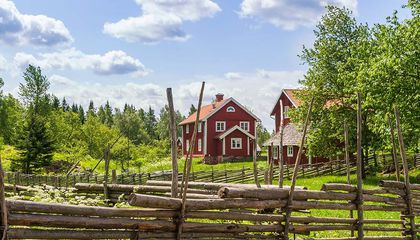 Why Are All Swedish Cottages Painted Red?