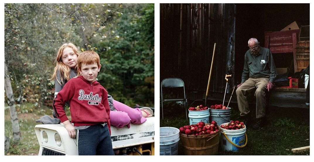 fall diptych
