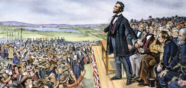 Image result for abraham lincoln delivered the gettysburg address