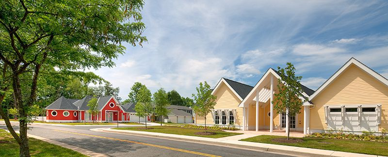 "Michael Graves & Associates, the ""Freedom"" and ""Patriot"" Homes, created for the Wounded Warrior Home Project."