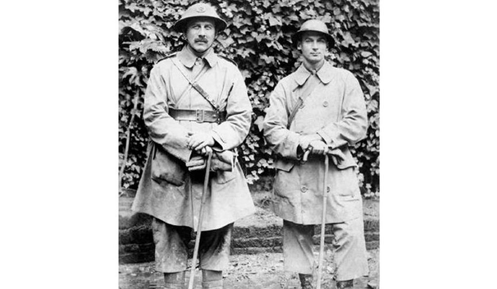 Trench coats offered utility during war and later, style for civilians.