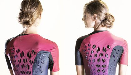This Biofabric From MIT Uses Bacteria to Automatically Ventilate Workout Clothes