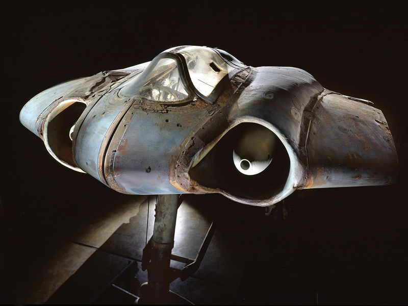 """Restoring Germany's Captured """"Bat Wing"""" 