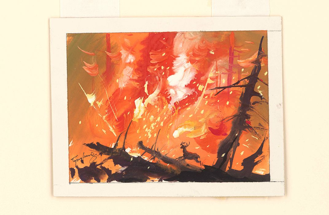 Artist Tyrus Wong's Brush With Destiny | At the Smithsonian