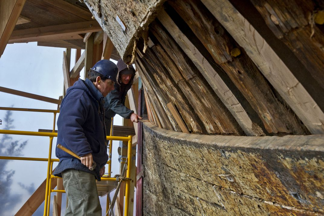 For the First Time in 93 Years, a 19th-Century Whaling Ship Sets