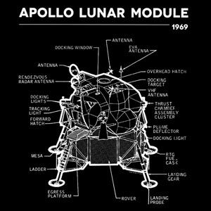 Preview thumbnail for video 'Apollo Lunar Module T-Shirt
