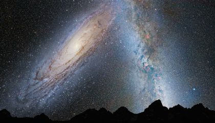 When Galaxies Collide: The Fate of the Milky Way