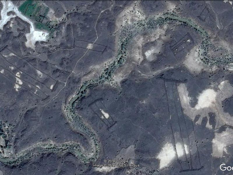 Google Earth Leads To Discovery Of Stone Gates In Saudi - Google earth