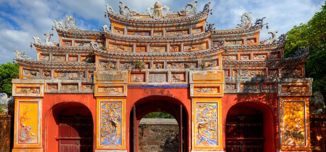 Gate at the Imperial City, Hue