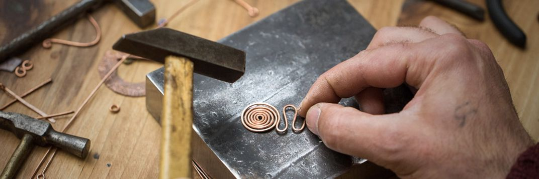 Create your own copper jewelry image