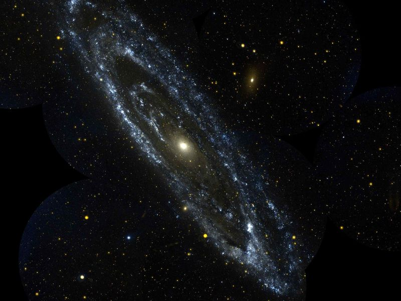 Andromeda May Have Eaten the Milky Way's Long-lost Sibling