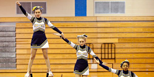 Is cheerleading a sport? Maybe in New York