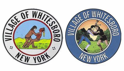 New York Village Changes Controversial Seal Showing a White Settler Wrestling a Native American