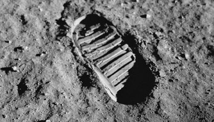 Watch Where You Step on the Moon