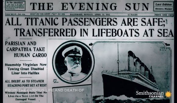 Preview thumbnail for video'How the Titanic Sinking Became Fake News