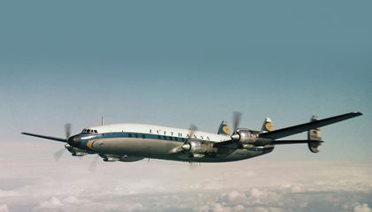 Lufthansa Brings Back a Superstar From the 1950s