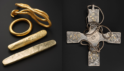 Trove of Viking-Age Treasures Makes Its Long-Awaited Public Debut