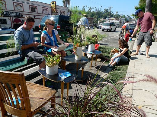 Park(ing) Day's Roadside Attraction | Arts & Culture