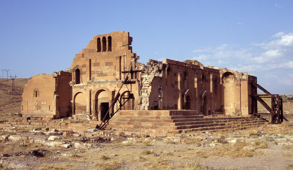 This basilica dates back to the fourth century.