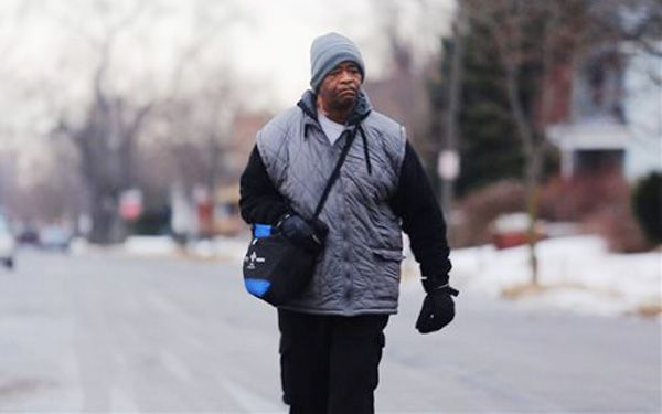 Man who walks 21 miles to and from work gets help