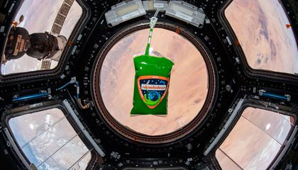 Astronauts Got Slimed in Space for Science