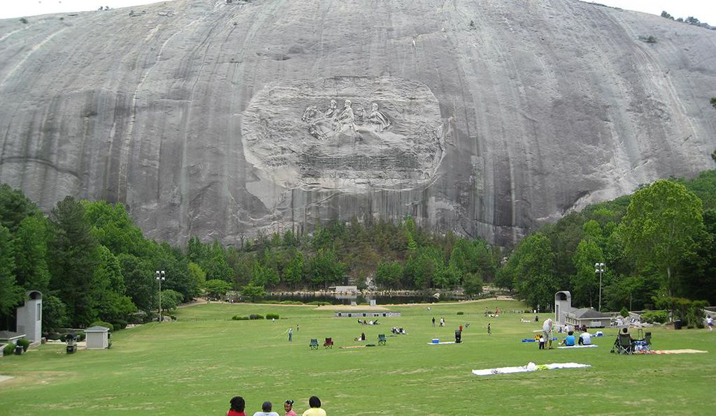 Today Stone Mountain Park welcomes millions of people each year, who can hike the mountain or visit the park's attractions.