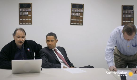 Preview thumbnail for video'How Obama's Historic 2008 DNC Speech Came Together