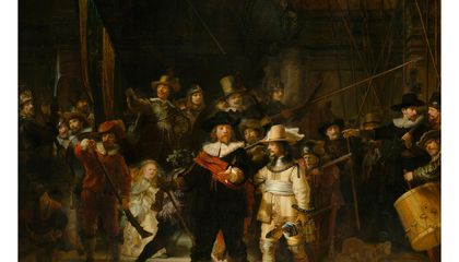 Explore a Hyper-Resolution Rendering of Rembrandt's 'The Night Watch' Online