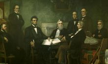 Reading of Emancipation Proclamation