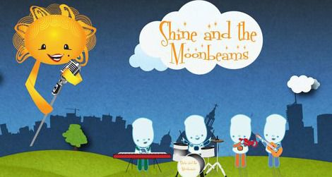 Bring your toddler and rock out with Shine and the Moonbeams at the Discovery Theater.