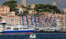 Harbor at Cannes France