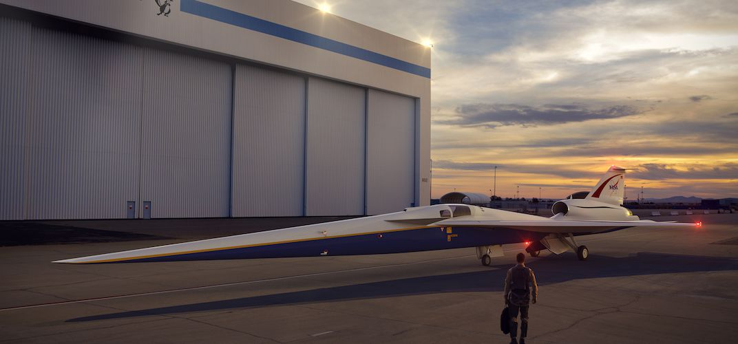 Caption: Five Things to Know About NASA's Newest X-Plane