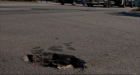 A pothole is the gateway drug to civic engagement
