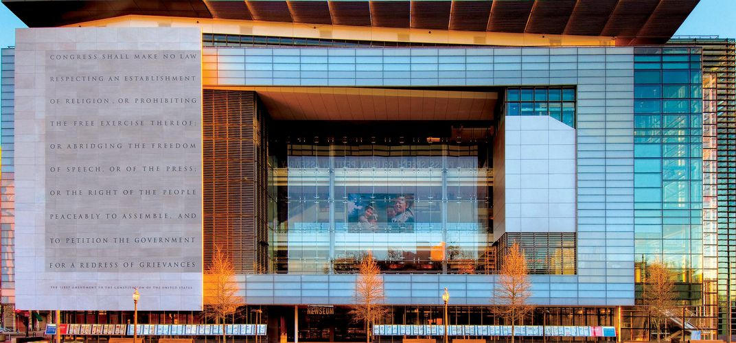 Caption: D.C.'s Newseum Is Closing Its Doors at the End of the Year