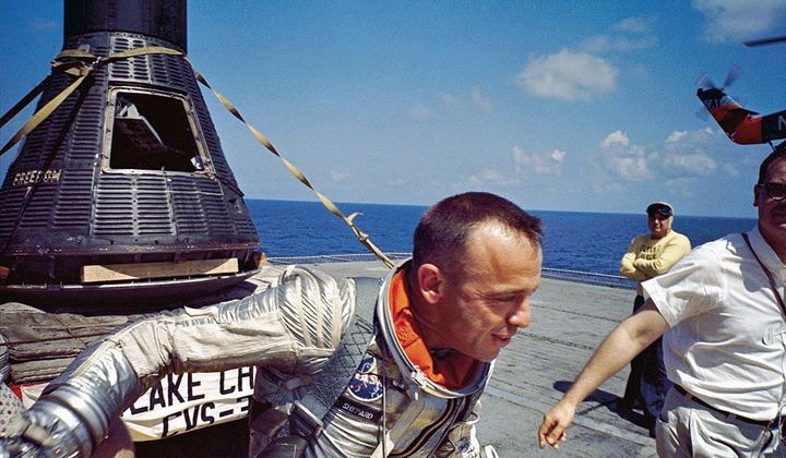 Why Alan Shepard Caried a Dollar Into Space