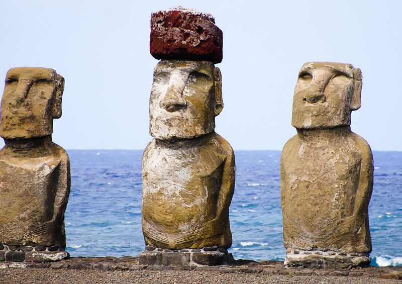 Easter island statues may have marked sources of fresh water smart