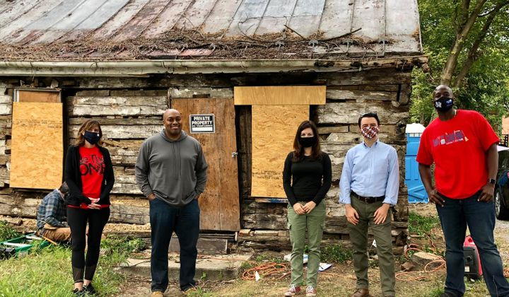 Cabin Excavation Unearths Maryland's Black History