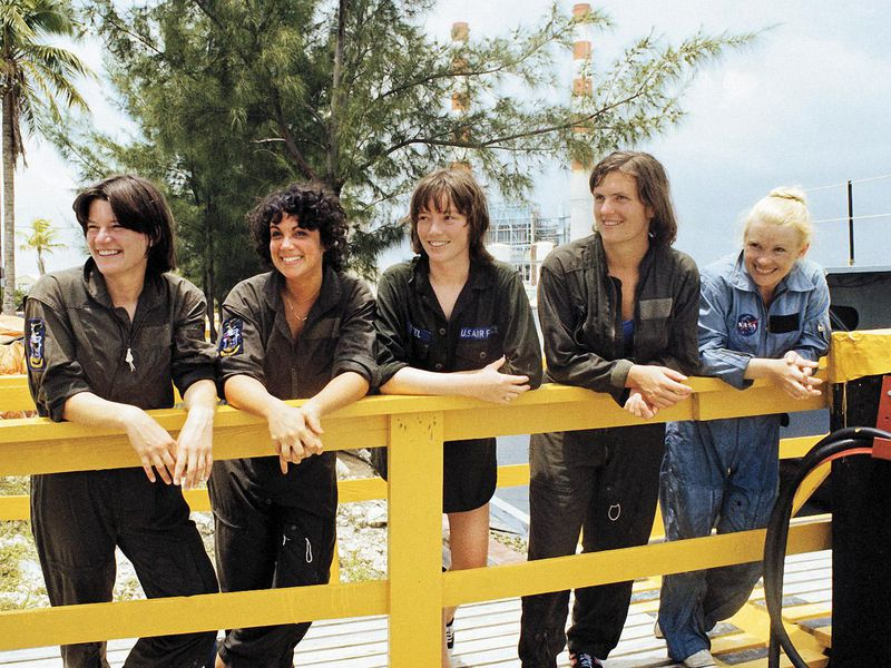 first women astronauts