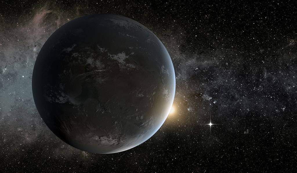 Johnson pioneers new ways to find exoplanets. Last year, Aowama Shields reported that this one, Kepler-62f, might have liquid water.