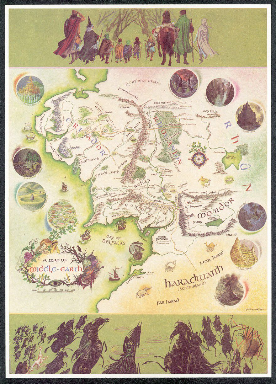 Middle-earth Poster