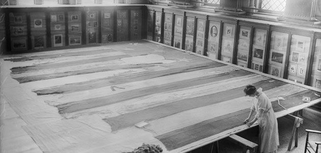 The Story Behind The Star Spangled Banner History Smithsonian
