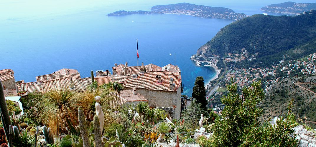 View of the Riviera from Eze