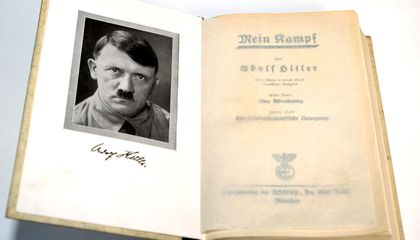 Germans Brace for the Re-Release of 'Mein Kampf'