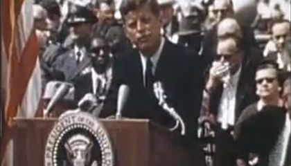 Remembering When JFK Sent Us to the Moon