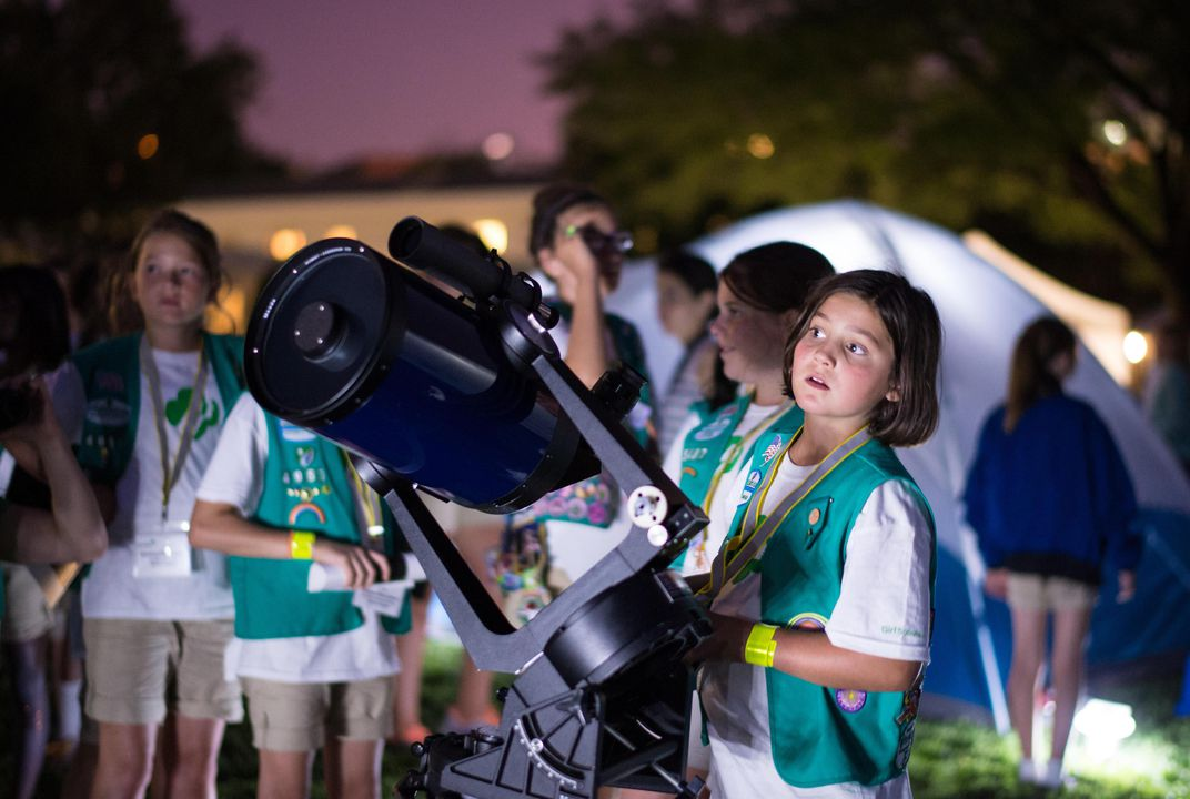 Girl Scouts, Now You Can Earn a Badge in Space Science