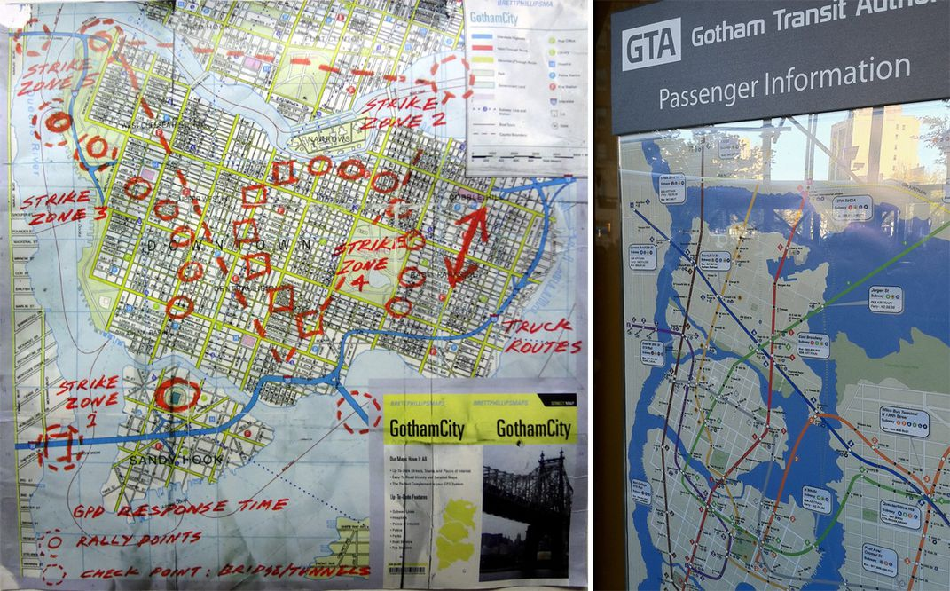 gotham city as it appeared in promotional materials for christopher nolan s the dark knight rises