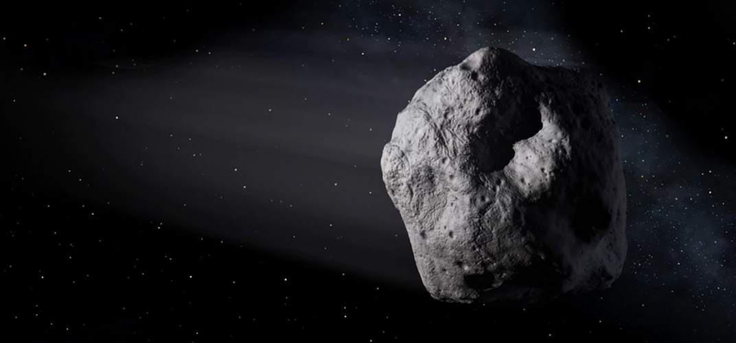 Caption: An Unexpected Asteroid Buzzed by Earth Last Sunday