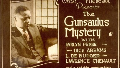 Explore the Flickering, Forgotten Past of African-Americans in Silent Film