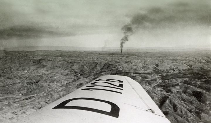 When Airplanes Helped Open Middle East Oil Fields