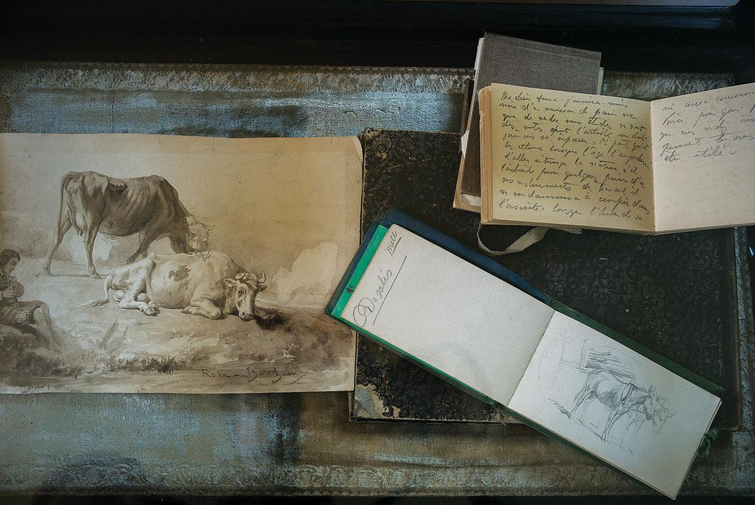 Bohneur's sketches and journals
